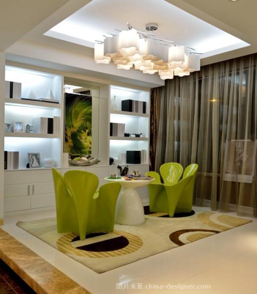 高新置业尚郡样板房-张晓莹的设计师家园-现代,住宅公寓样板间