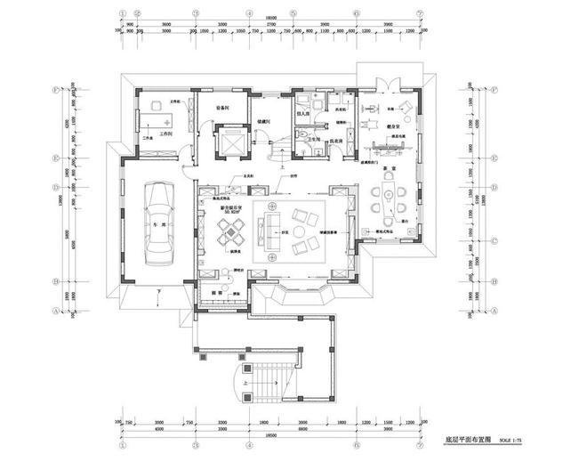 一渡新新小镇二期(影溪山)别墅样板间-李枫的设计师家园-别墅样板间
