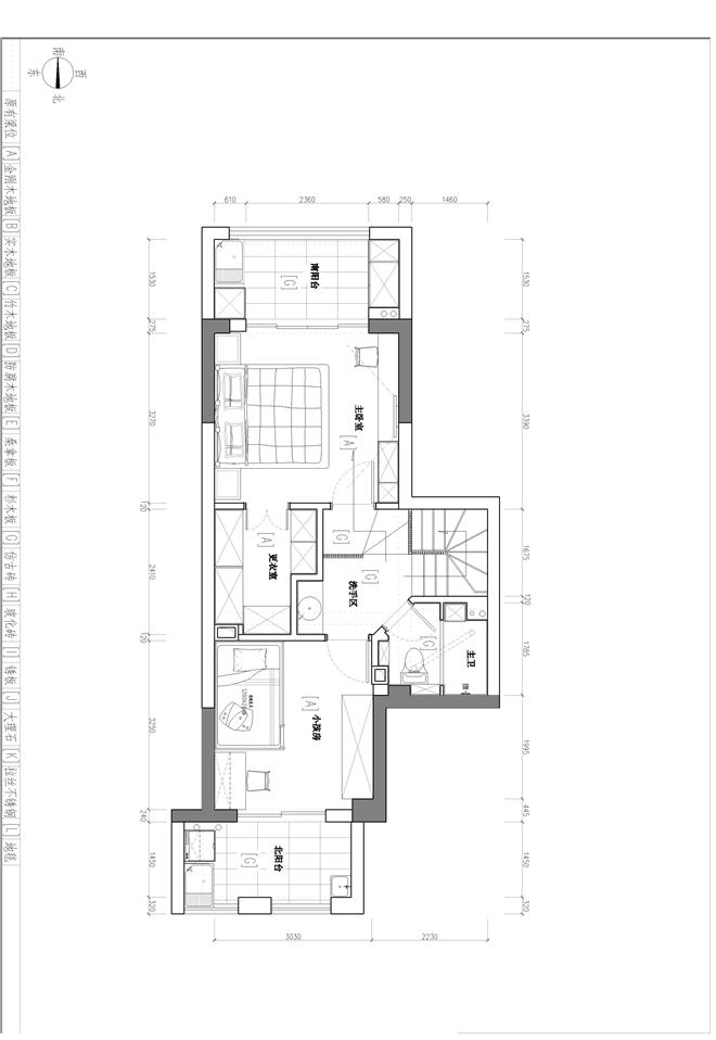 三盛中央公园-许娜的设计师家园-复式