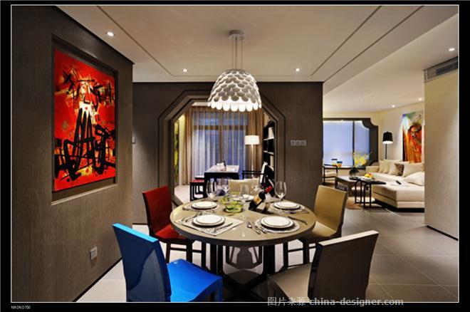 福建福州-大儒世家卧虎2#305-黄育波的设计师家园-新中式,客厅,厨房,儿童房,卧室,餐厅