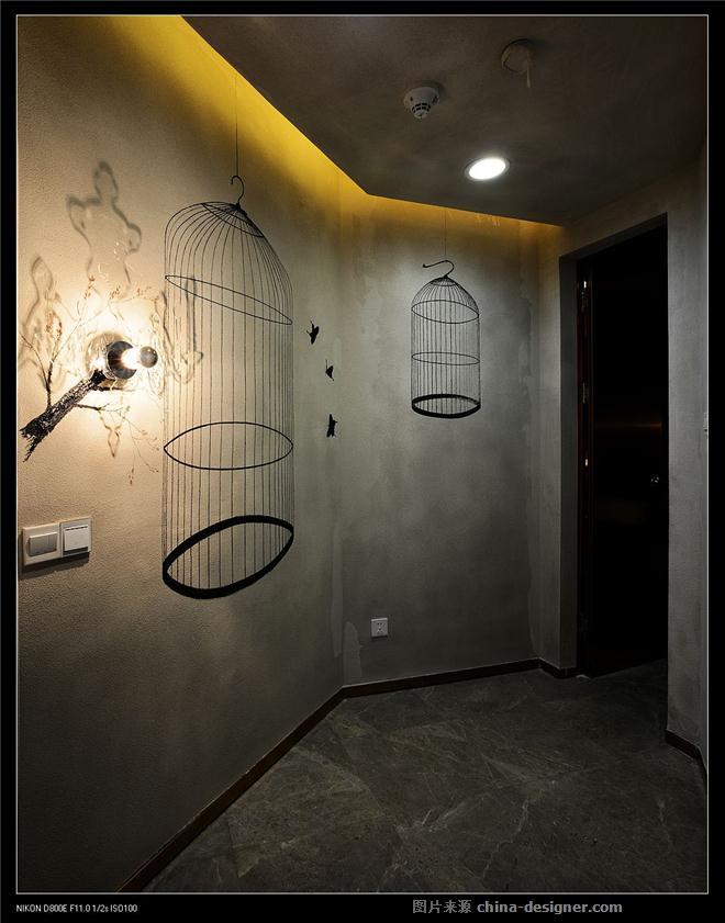 隔墙花影动-汪晖的设计师家园-医疗会所