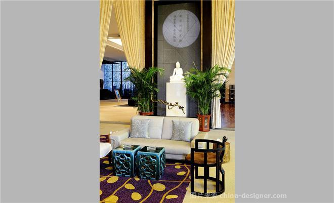 瀚海泰苑售楼部设计方案-李战强的设计师家园-售楼部设计方案