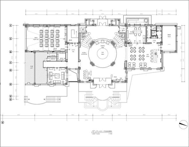 大连亿达天琴山会所-曲春光的设计师家园-其他售楼处