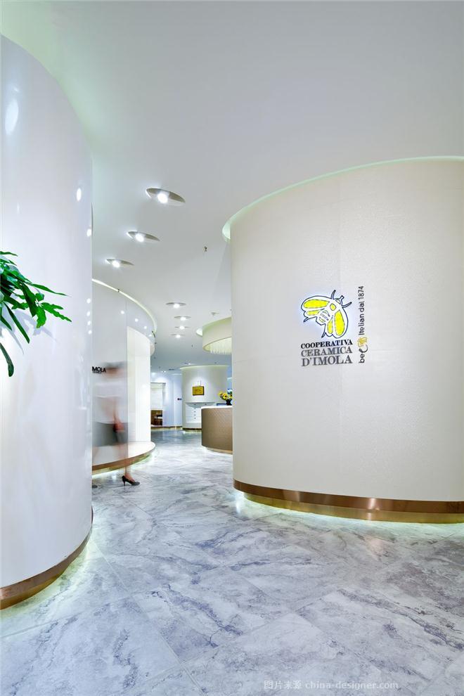 意大利蜜蜂瓷砖南京展厅-赵学强的设计师家园-典雅