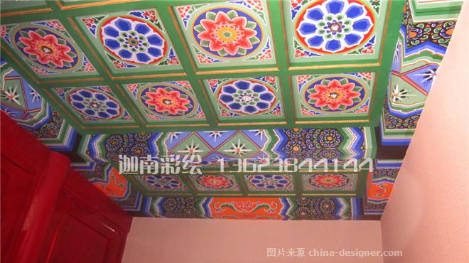 手绘墙绘壁画装饰公司的设计师家园-民族特色餐馆