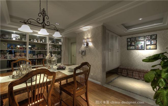 悠然自得-潘锦秋的设计师家园-闲静放松,青春活力,田园风格,美式,三居
