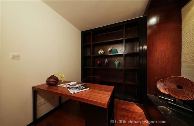 modern times china-潘锦秋的设计师家园-沉稳庄重,中国风,现代简约,新中式,二居