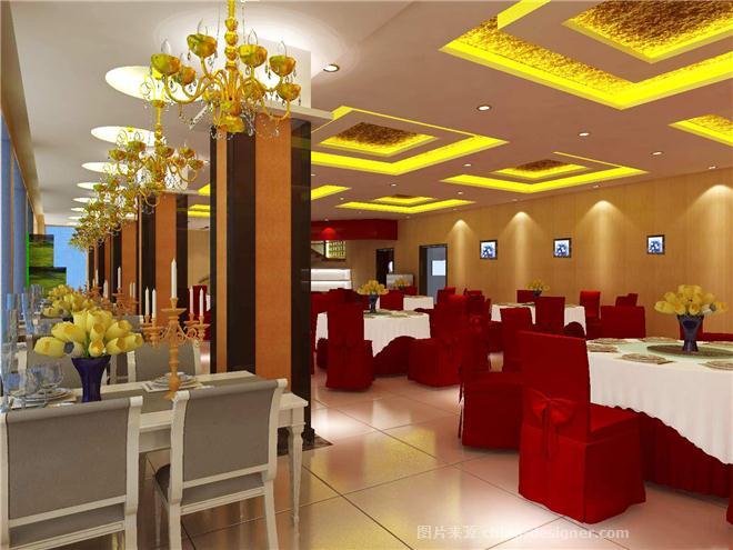 海鲜酒楼-陈志强的设计师家园-中餐厅/中餐馆
