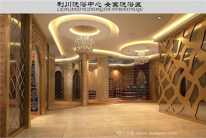 利川洗浴中心-罗才威的设计师家园-欧式,桑拿,洗浴