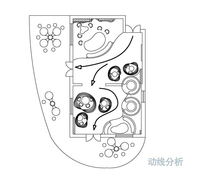 梦幻工厂——优扬传媒办公室(筑邦臣) 立面图1 立面图2 效果图1 效果