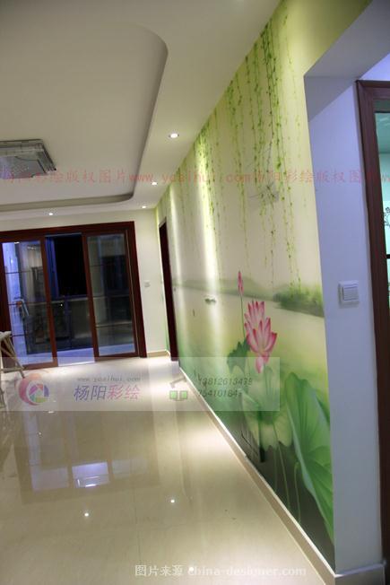 扬州风景手绘墙-江南-杨阳的设计师家园:::扬州墙体