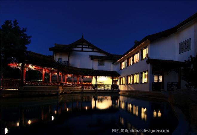 李贽书院-珠海空间印象建筑装饰设计有限公司的设计师家园-中式,度假村