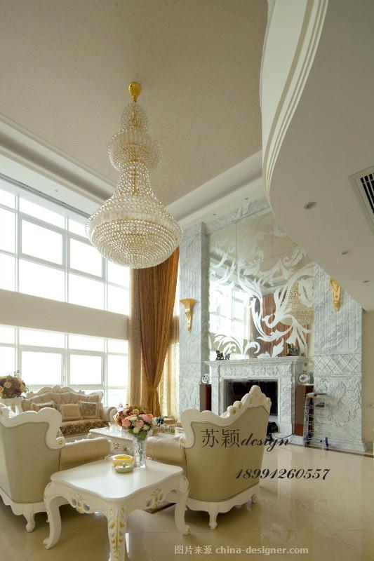 恋上白色欧式-苏颖的设计师家园-欧式,复式