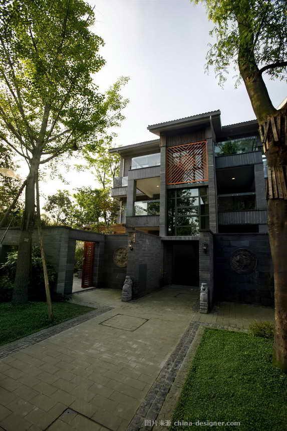 成都青城山上善栖-周勇的设计师家园-新中式,联排别墅