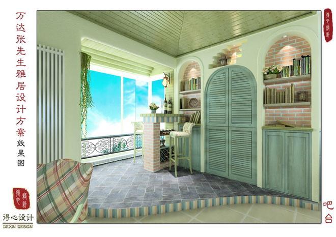 《海风》-韩建忠的设计师家园-三居