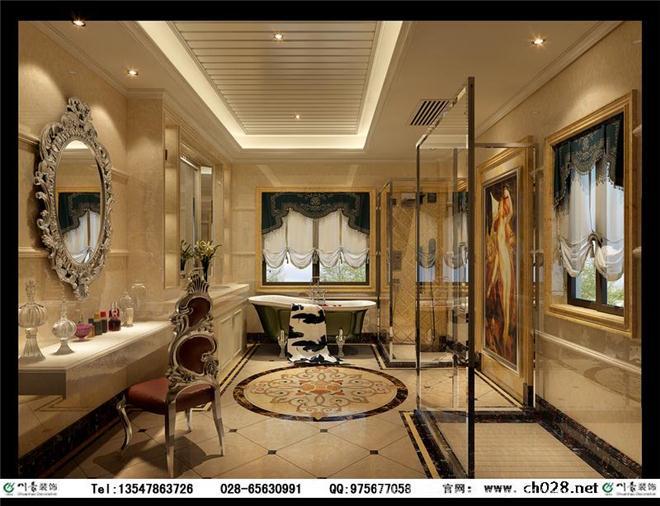 麓山国际长岛装修设计图片 长岛别墅装修-龙发装饰有限责任公司的设计