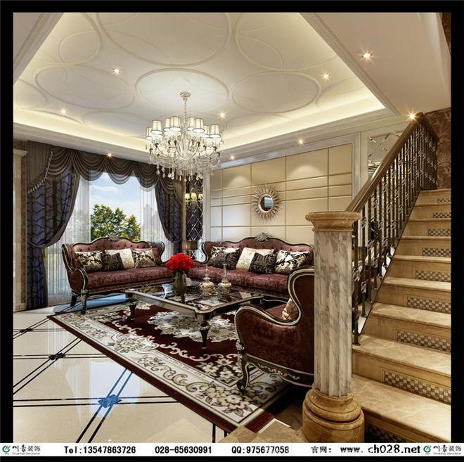 麓山国际长岛装修设计图片 长岛别墅装修-风生水起室内设计机构的设