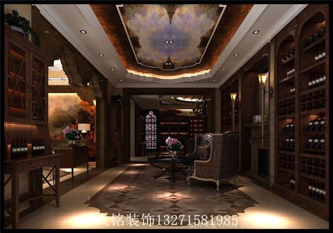 郑州柯兰库尔红酒会所-郑州大铭装饰设计工程有限公司的设计师家园-欧式,红酒吧