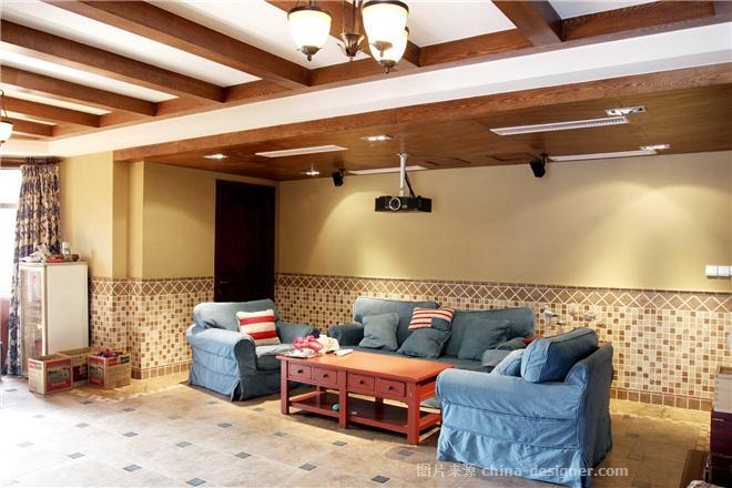 常青藤别墅-王建的设计师家园-美式,独栋别墅