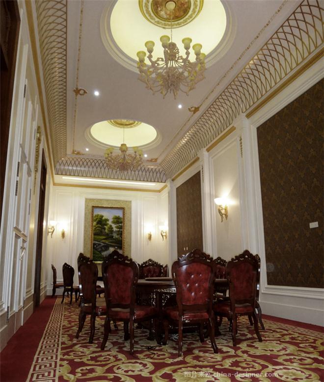 纯白欧式餐饮-王跃飞的设计师家园-古典欧式,中餐厅/中餐馆