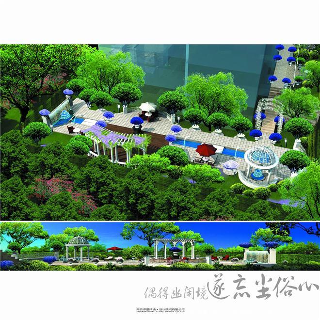 别墅-优美庭院花园-蒋晓丽的设计师家园-独栋别墅