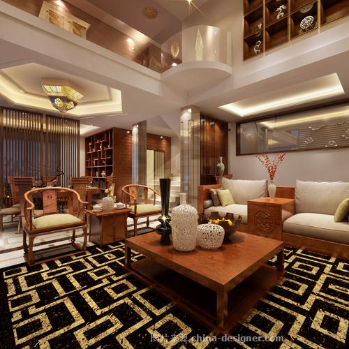弘建国际花园别墅-江阴亚光亚 名居世家装饰设计工的设计师家园-独栋别墅