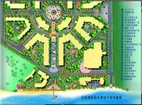设计师家园-海南文昌白金海岸4星级度假酒店景观