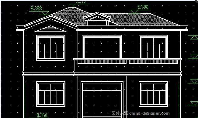 农村实用性房屋-倪柯强的设计师家园-四居及以上