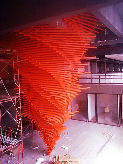 创意园 2012年5月-关广炜的设计师家园-龙卷风钢结构
