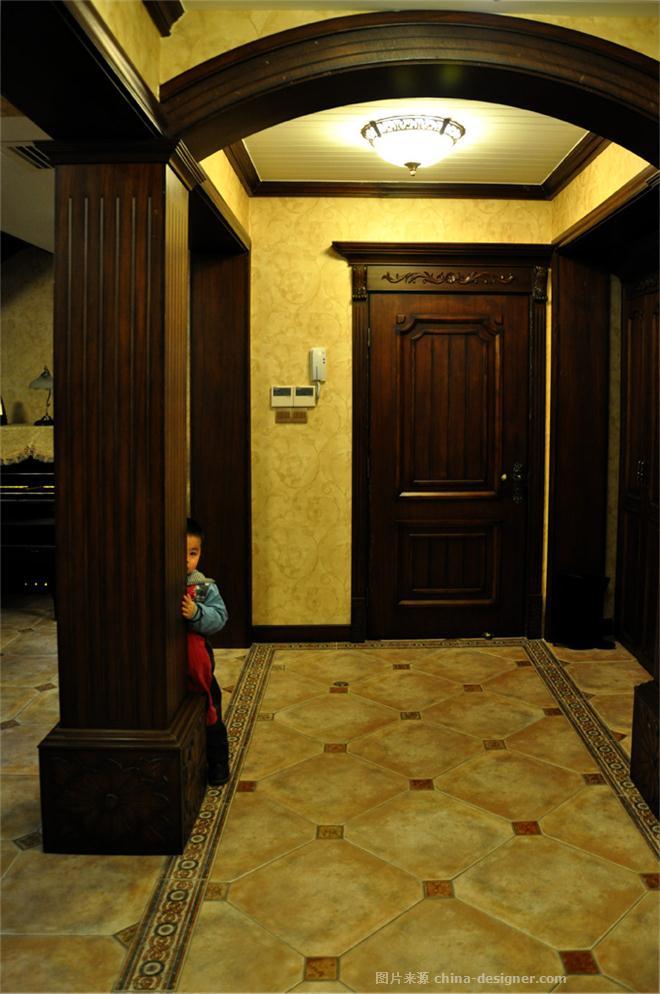 下午茶-王红的设计师家园-沉稳庄重,新古典主义,叠拼别墅