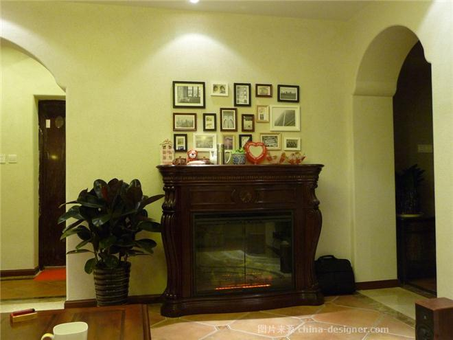 宁波新天地严宅-顾碧波的设计师家园-餐厅,客厅,新古典主义,地中海,美式,三居