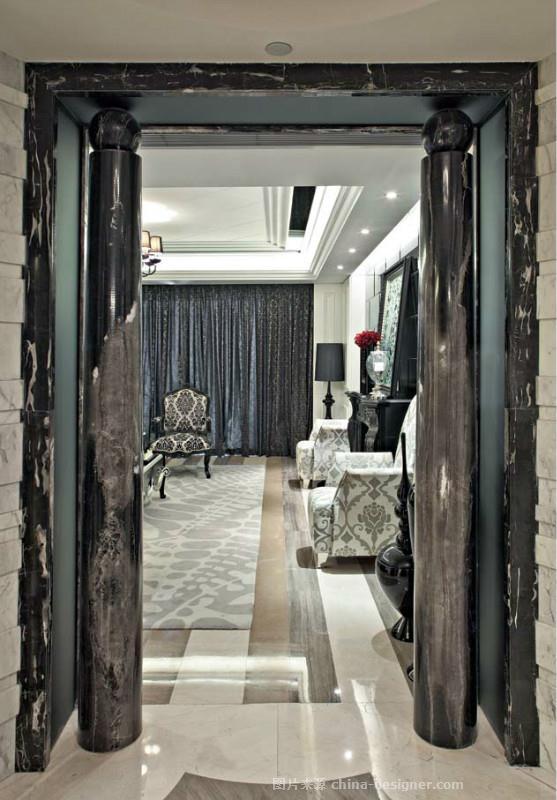 石家庄原河名墅-李岩杰的设计师家园-现代欧式,新古典主义,后现代主义,独栋别墅