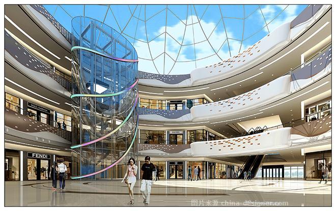 漳州万达广场商场公共部分-明正的设计师家园-现代简约,商场/百货大楼