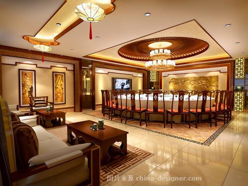 新蓝天酒楼-阿伟的设计师家园-中餐厅/中餐馆