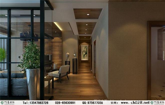 新中式风格家装 现代中式风格装修图片-川豪装饰有限