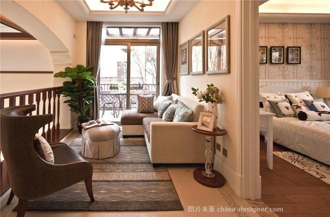富力湾r户型别墅样板房-陈莹的设计师家园-别墅样板间,田园,其他气氛
