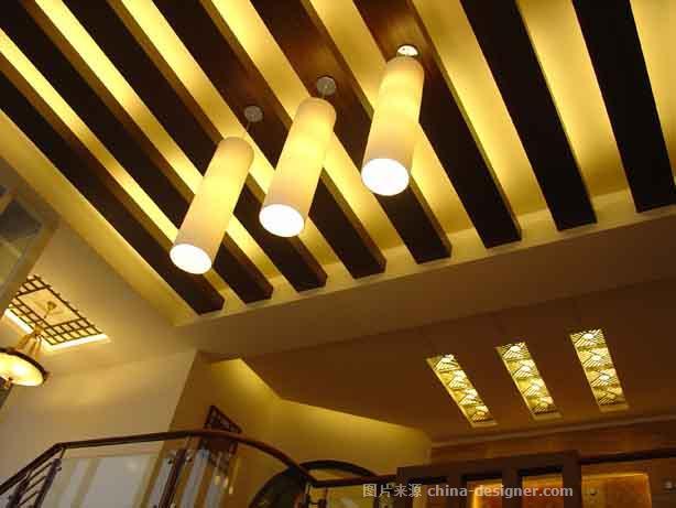 海口西海岸中式别墅-海南艺廊装饰设计工程有限公司的设计师家园-新中式,空中别墅
