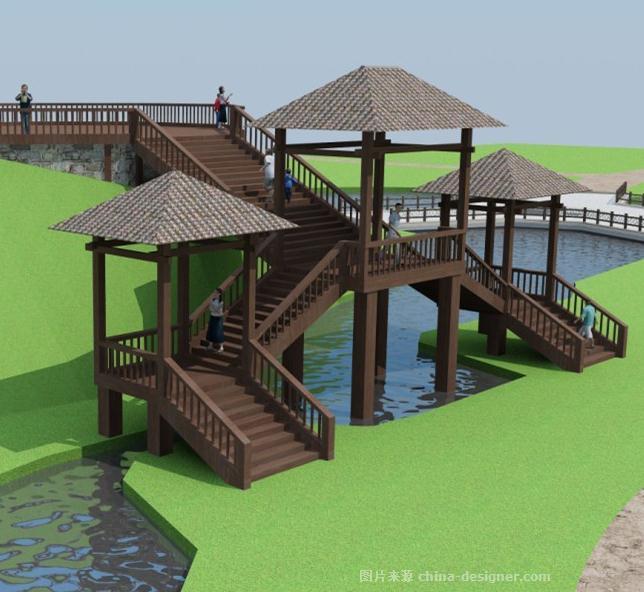 河南确山县老乐山风景区景观方案-张根良的设计师