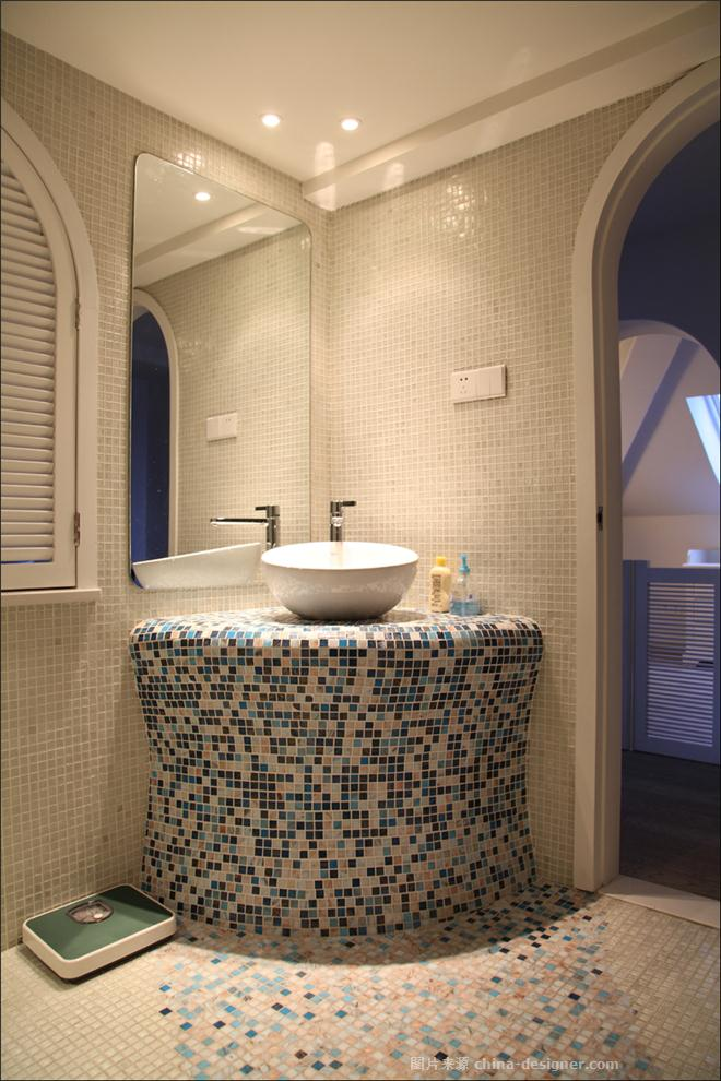 盛世华城-徐波的设计师家园-地中海风格,现代简约,复式