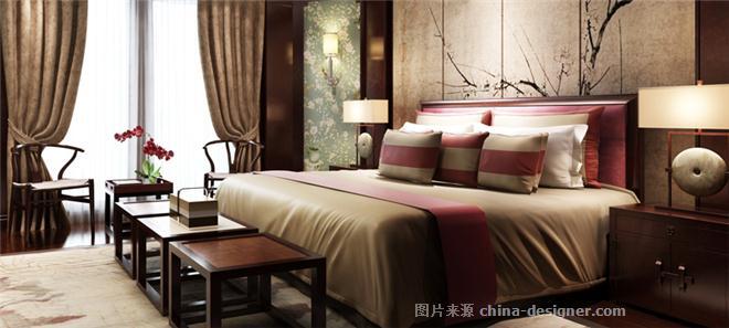浙江万达别墅-徐梁的设计师家园-沉稳庄重,混搭,新中式,联排别墅