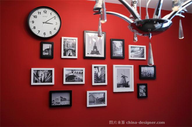 天润园-孟令凯的设计师家园-原生态,青春,混搭,现代简约,三居