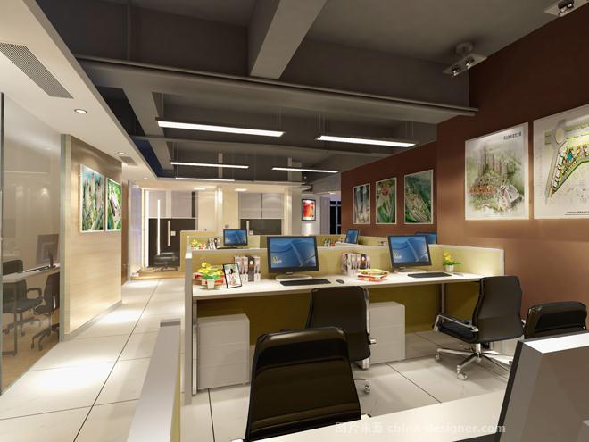 华磊建筑设计咨询有限公司办公室设计-许洪的设计师家园-领导办公室