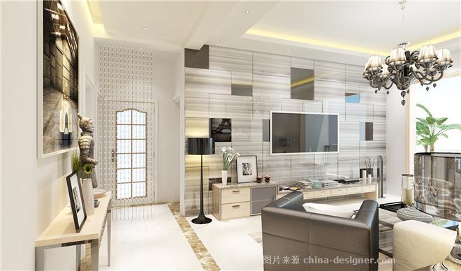 白云合园-伍工的设计师家园-三居,小户型