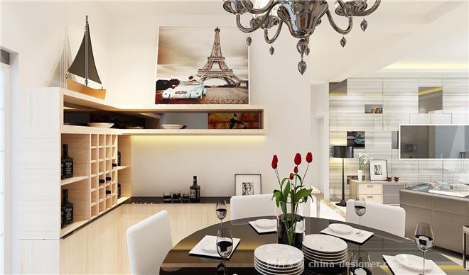 白云合园-伍和平的设计师家园-三居,小户型