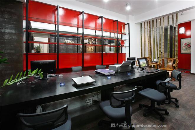 汕头市友信装饰工程有限公司-吴淼昌的设计师家园-现代简约,办公室,办公区