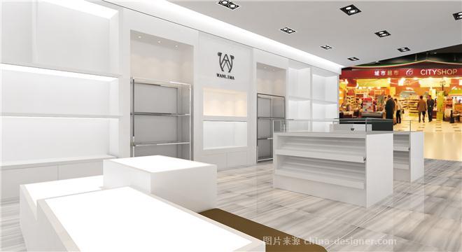 万里马专卖店-伍工的设计师家园-现代简约,专卖店