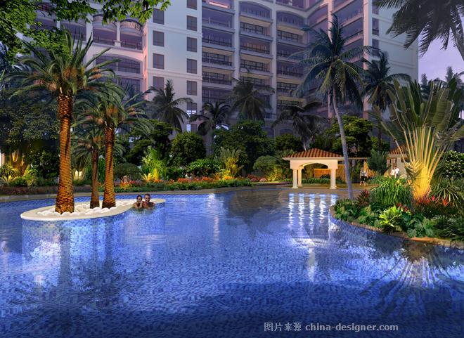 万宁弗拉明戈・屿海景观设计-海南原语设计咨询有限公司的设计师家园-地中海风格