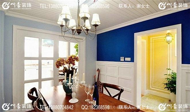 客厅地砖装修蓝色