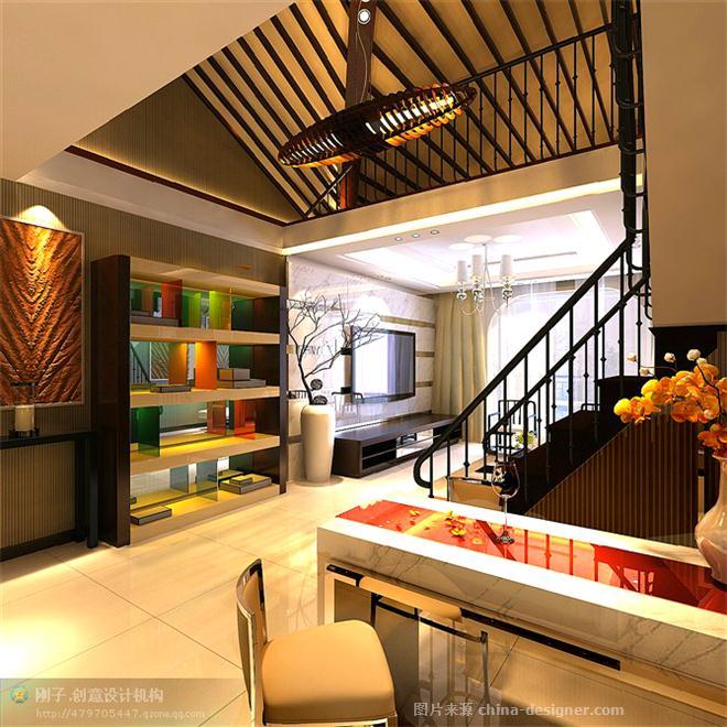 """""""静""""-王勇刚的设计师家园-客厅 现代 东南亚 混搭"""