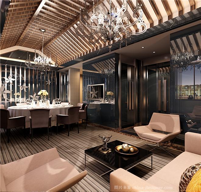 南通港颐轩会所-魏士能的设计师家园-中餐厅/中餐馆